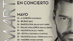 Agotadas las entradas del Palma Arena para ver a Ricky Martin