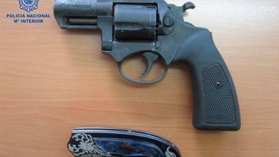 Las armas utilizadas
