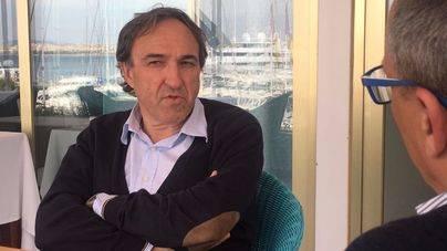 Rafael Crespí (Sa Pobla) durante la entrevista