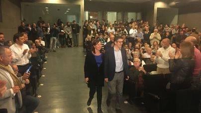 Patxi López congrega en Palma a 200 seguidores