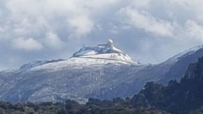 La nieve cubre el Puig Major a partir de 1.300 metros