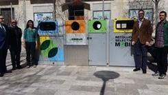 El alcalde presenta el nuevo sistema de recogida móvil de residuos