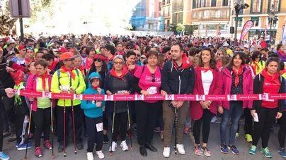 1.700 participantes en la II Marcha por la Igualdad Nordic Walking