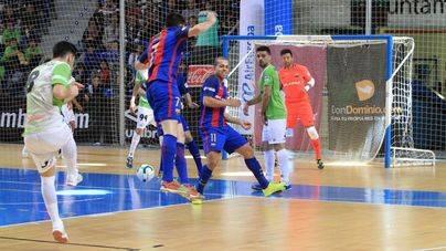 Palma Futsal y Barcelona empatan (1-1) en Son Moix