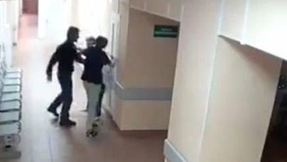 La agresión en un hospital se hace viral en las redes