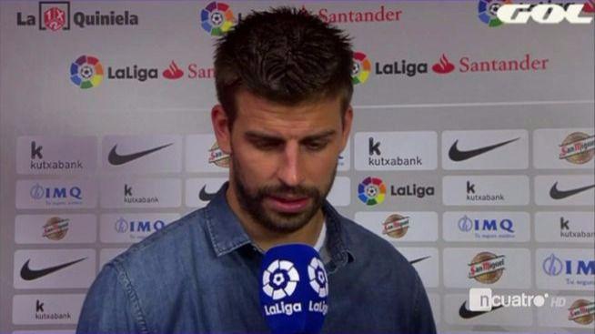Piqué acusa al Madrid y a Florentino de 'mover todos los hilos'