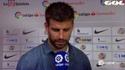 Piqué acusa al Madrid y a Florentino de