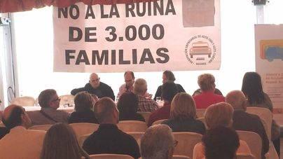 Una imagen de la asamblea celebrada este miércoles