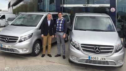 Miguel Ramis, gerente de Viravanti, y Bartolomé Coll, director comercial de Auto Vidal