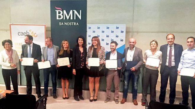 CAEB da el premio al Mejor Plan de Empresa