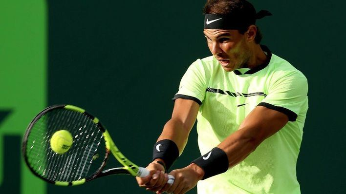 Nadal supera al italiano Fognini por 6-1 y 7-5