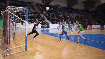 El Palma Futsal golea por 6-1 al Peñíscola, rival directo