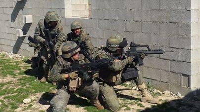 Las Unidades de Balears se adiestran en la conducción de operaciones