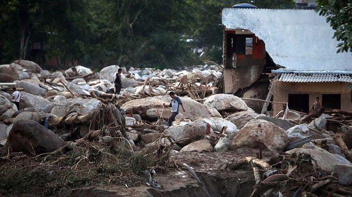 Una riada causa 234 muertos y 220 heridos en Colombia