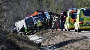 Tres muertos en el accidente de un autobús escolar