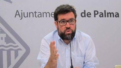 Toni Noguera es teniente de alcalde de Urbanismo del Ajuntament de Palma