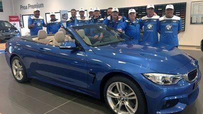 BMW Proa Premium, nuevo patrocinador del equipo de veteranos de Palma Pádel
