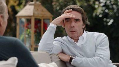 Aznar con Bertín: