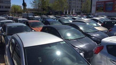 Palma es la ciudad española que más multa a coches de alquiler