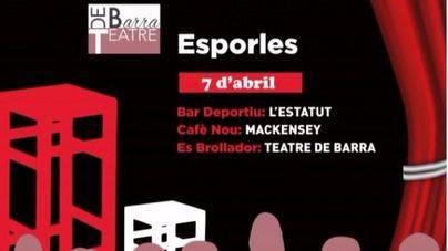 La comedia protagoniza el 'Espai Escènic' del Teatre de Barra de Esporles