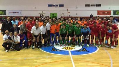 El Palma Futsal se lleva el Trofeo AEA Solidaria