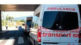 Una pareja herida de gravedad en accidente de moto