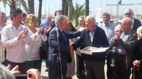 Alcudiamar celebra la distinción a Joan Bennasar por su entrega al mar