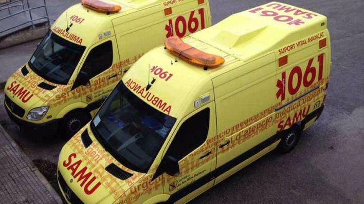 Desconvocada la huelga de ambulancias de SAMU 061 prevista para este martes