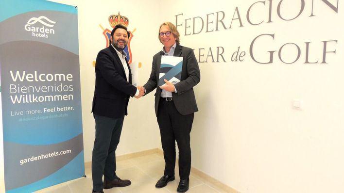 La Federación Balear de Golf tendrá beneficios en los Garden Hotels