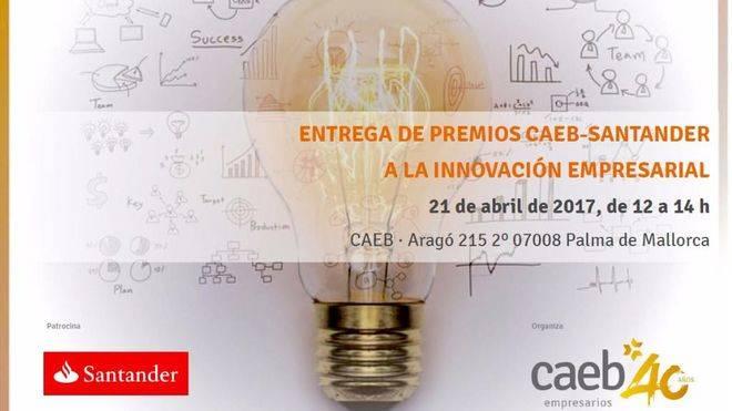 CAEB da a conocer los finalistas al II Premio a la Innovación de Pymes