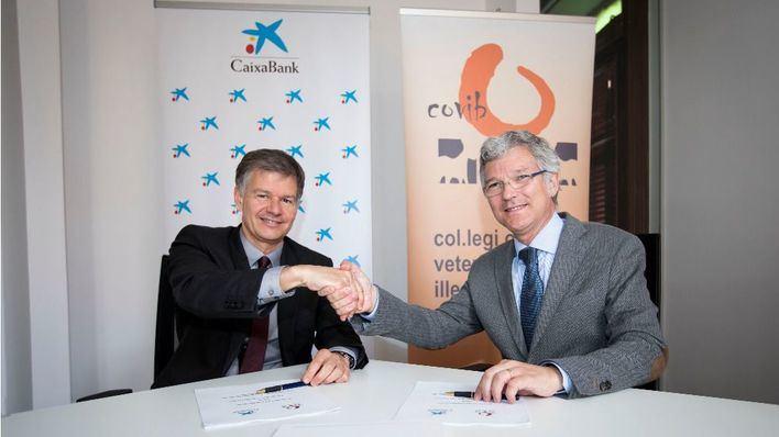 Acuerdo de colaboración entre Caixabank y el Colegio de Veterinarios