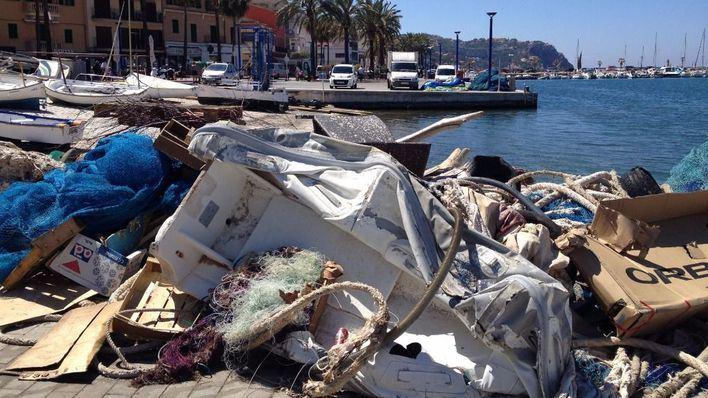 Imagen del Port en pleno arranque de la Semana Santa