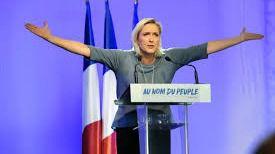 Ataque contra el cuartel general de Marine Le Pen