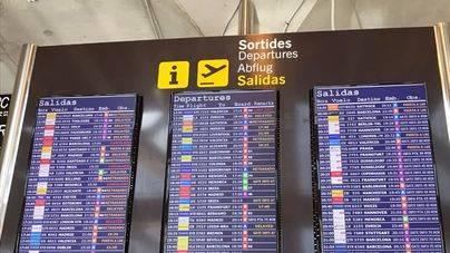 Normalidad en los aeropuertos baleares tras el incidente
