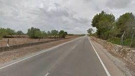 Fallece un hombre al chocar su coche contra un muro en la carretera de Sineu