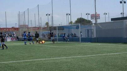 El Atlètic Balears salva un punto en el último minuto