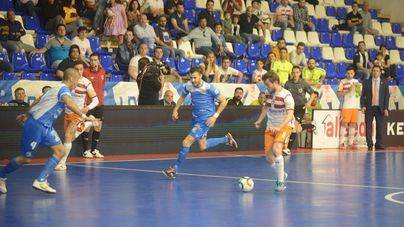 El Palma Futsal empata a 3 en Cartagena