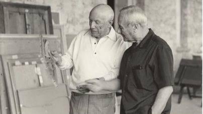 Can Prunera expone por primera vez la amistad entre Picasso y Miró