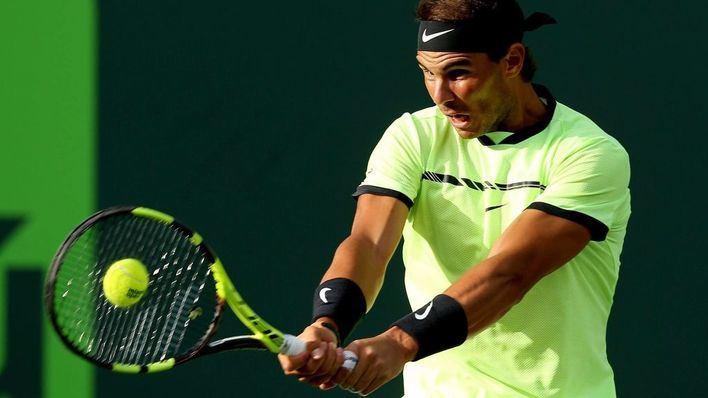 Nadal cae dos posiciones en la ATP y se queda séptimo