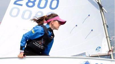 María Perelló, campeona absoluta de la Copa de España de Optimist