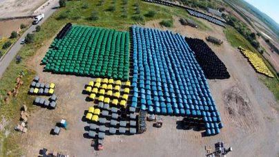 La nueva tanda de contenedores de recogida selectiva de Emaya