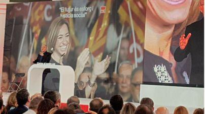 Multitudinario homenaje a Chacón en Barcelona