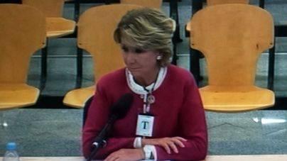 Aguirre rompe a llorar al ser preguntada por la detención de González