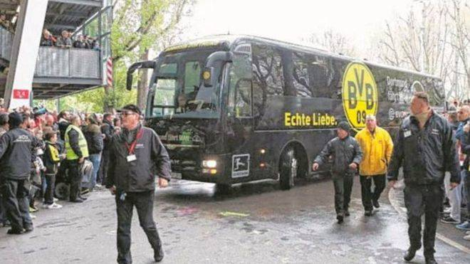 Un detenido por el atentado contra el autobús del Borussia Dortmund