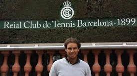 La pista central del RCT Barcelona pasa a llamarse Rafa Nadal