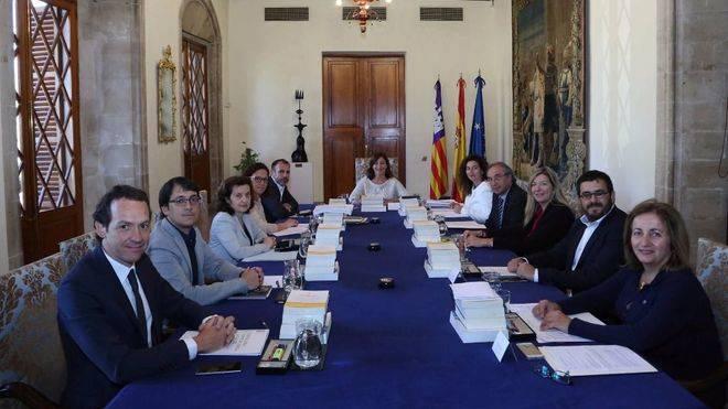 El Consell de Govern tras la última remodelación