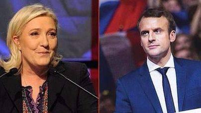 Las previsiones apuntan a una victoria de Macron frente a Le Pen