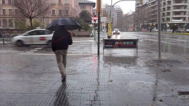 Fuertes tormentas en Balears, a las puertas del Puente de mayo