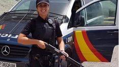 La Policía Nacional despide a la agente Jessica Moscoso en Palma