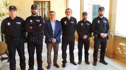 Andratx incorpora como interinos a 4 nuevos policías locales